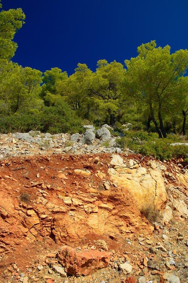 Download Poros Island stock photo. Image of tourism, europe, pine - 25331394