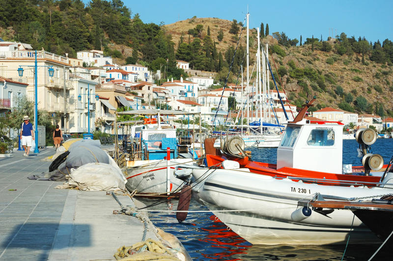 Download Poros Island - Popular Tourist Place In Greece Editorial Photo - Image: 22286826