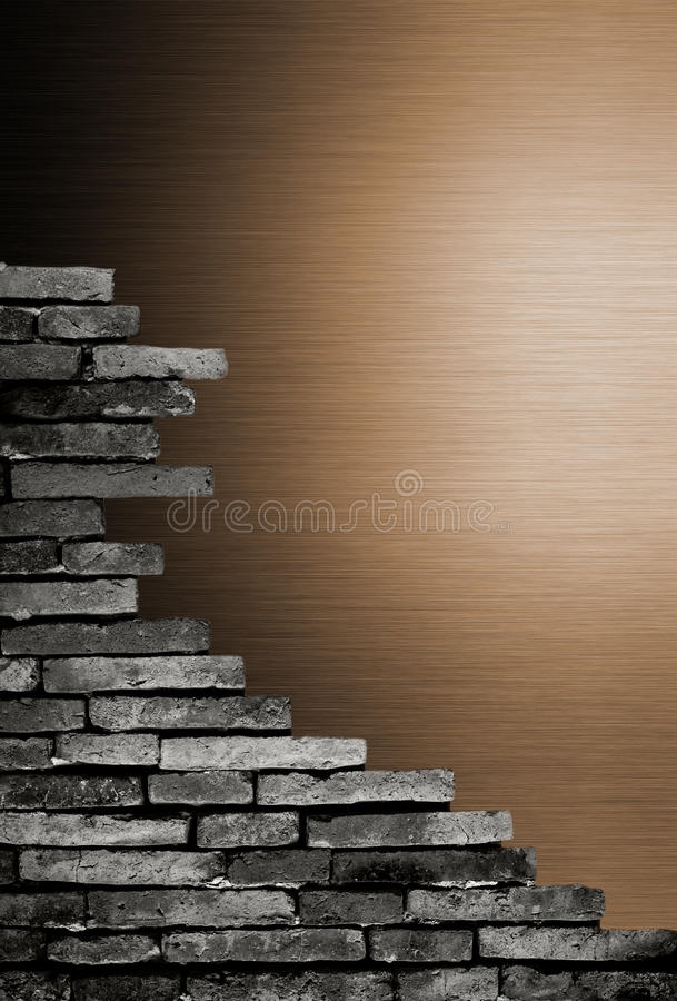 Download Porous On Grunge Wall See Metal Background Stock Image - Image: 18869287