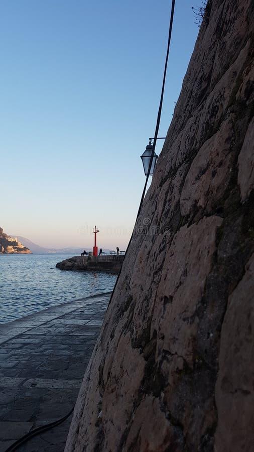 Porporela port dubrovnik royaltyfri foto