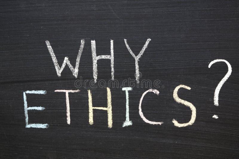 Porqué los éticas fotografía de archivo