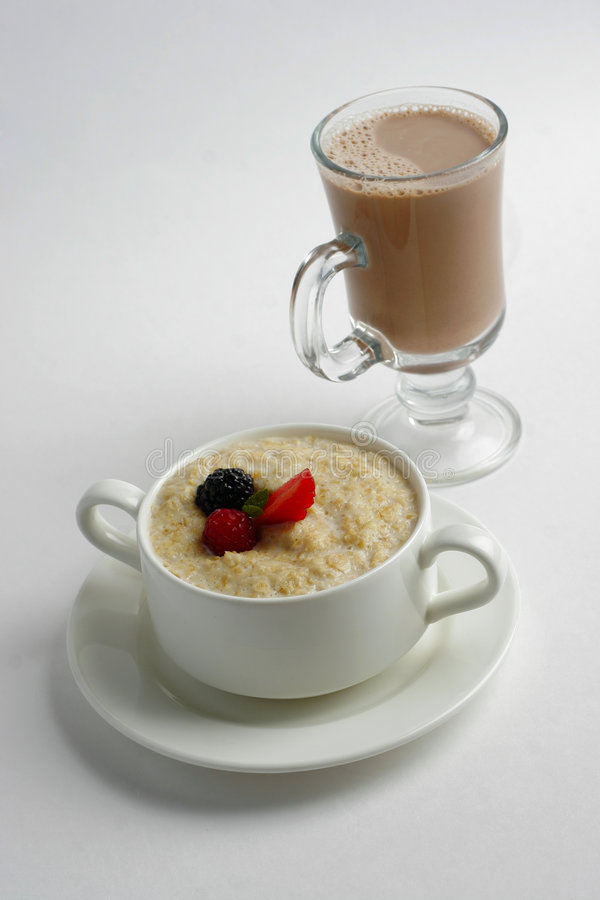 Download Porridge With Berries Stock Photos - Image: 7275633