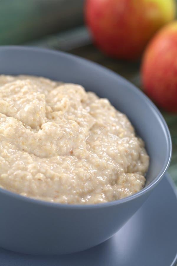 Porridge della farina d'avena immagini stock libere da diritti
