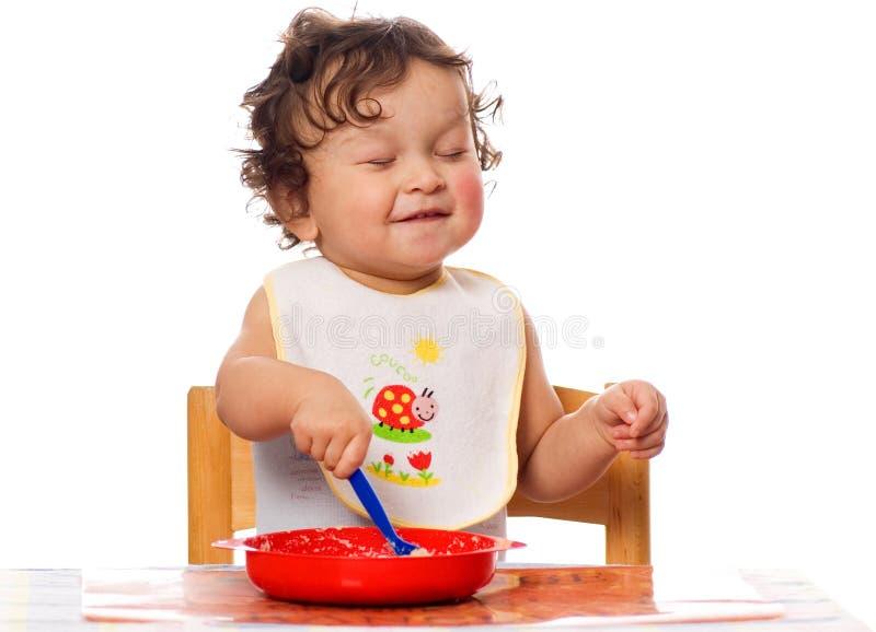 Porridge molto saporito! fotografie stock libere da diritti
