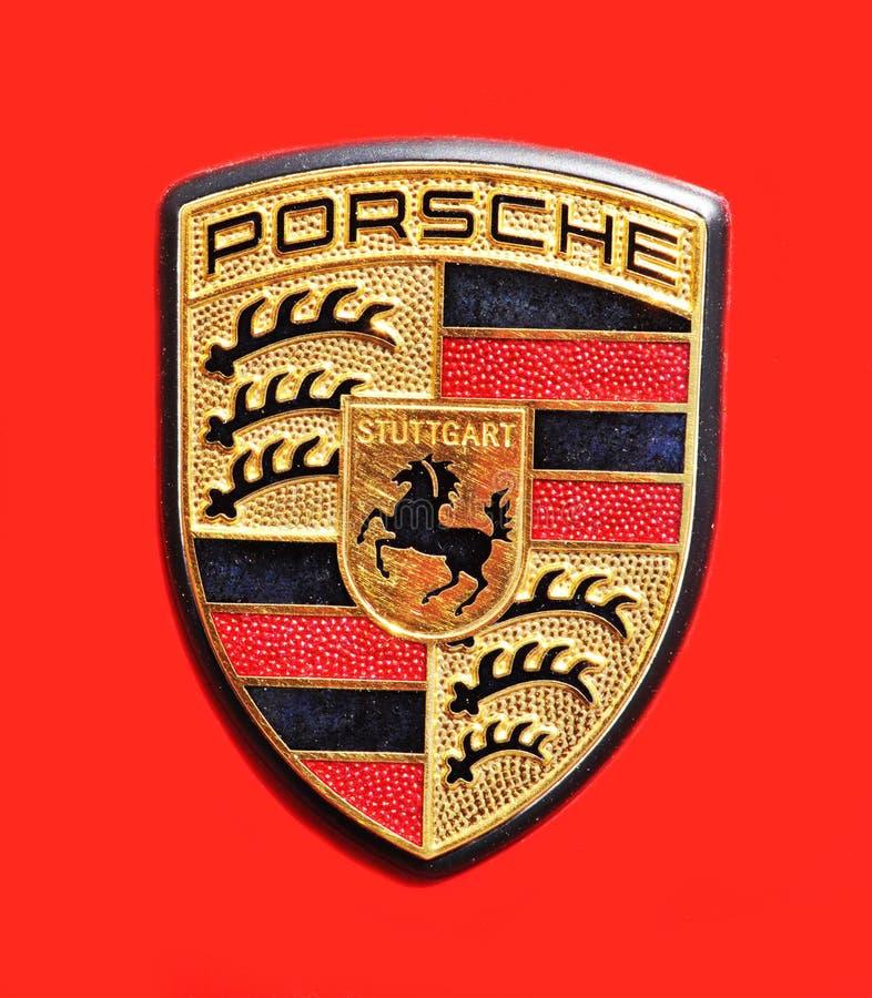 Porsche royalty-vrije stock afbeelding
