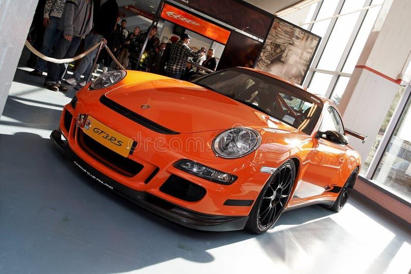 Porsche 2009 911 GT3 RS foto de archivo