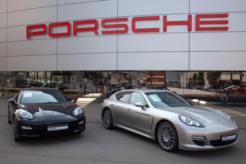 Porsche royalty-vrije stock foto's