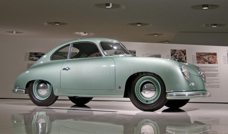 Porsche 356 - 1952 stockfotos