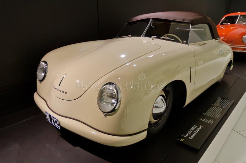 Porsche 356 royalty-vrije stock afbeeldingen