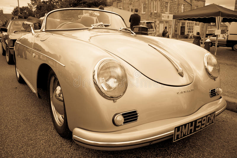 Porsche 356 Speedster stockfotos