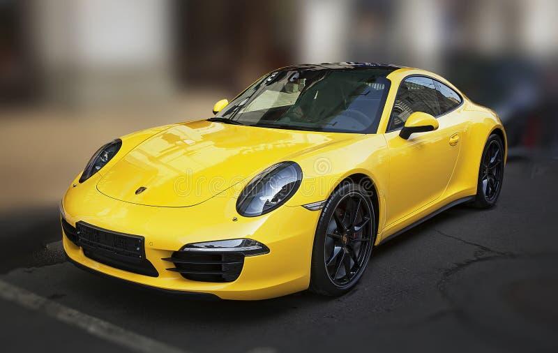 Porsche 911 royalty-vrije stock afbeeldingen