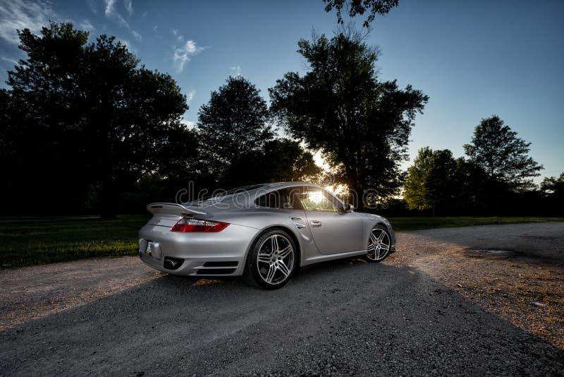 Porsche 997 stock foto's