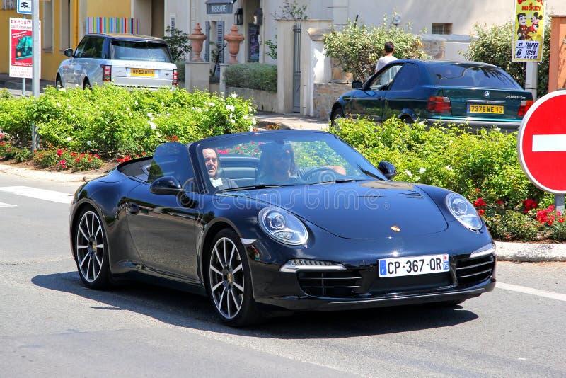 Porsche 991 911 stockfoto