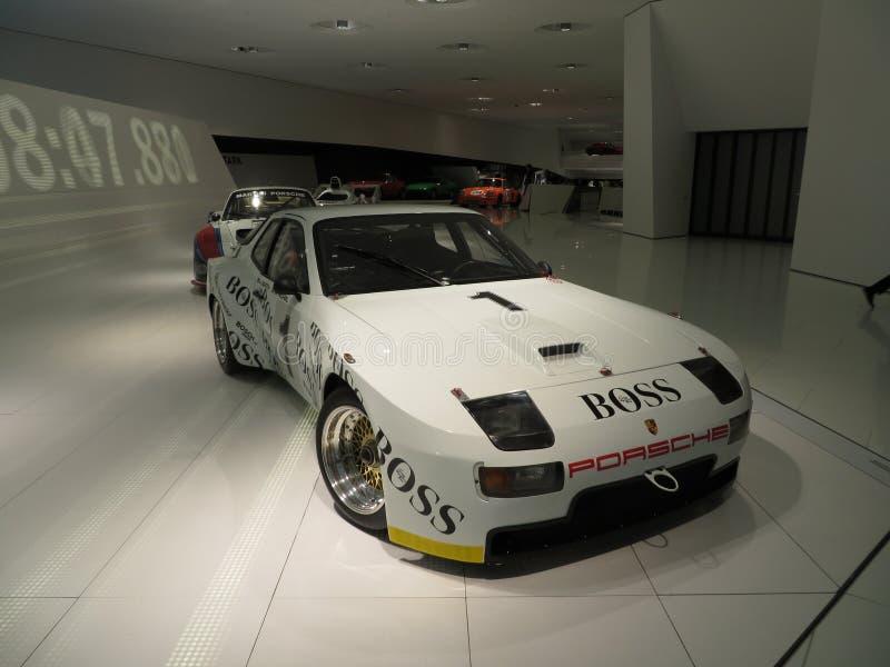 Porsche 924 lizenzfreie stockbilder