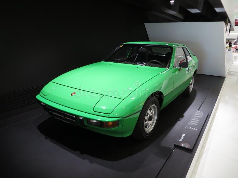 Porsche 924 lizenzfreies stockfoto