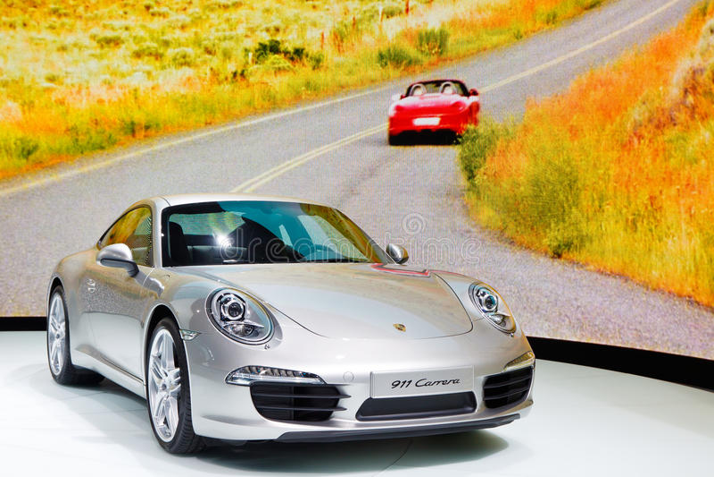 Porsche 911 Carrera photo stock