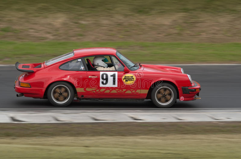 Download Porsche 911 Carrera Racing Car At Speed Editorial Photography - Image: 17347742