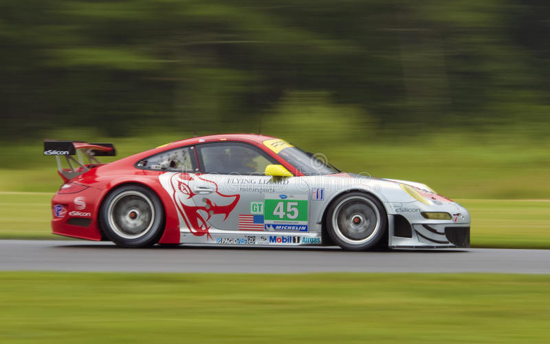 Download Porsche 911 race car editorial stock image. Image of track - 21151974