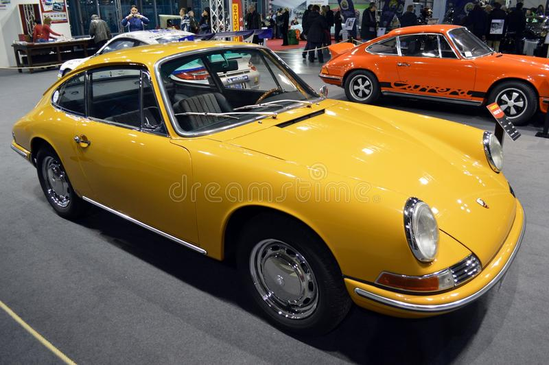 Porsche 911's birthday royalty free stock photo