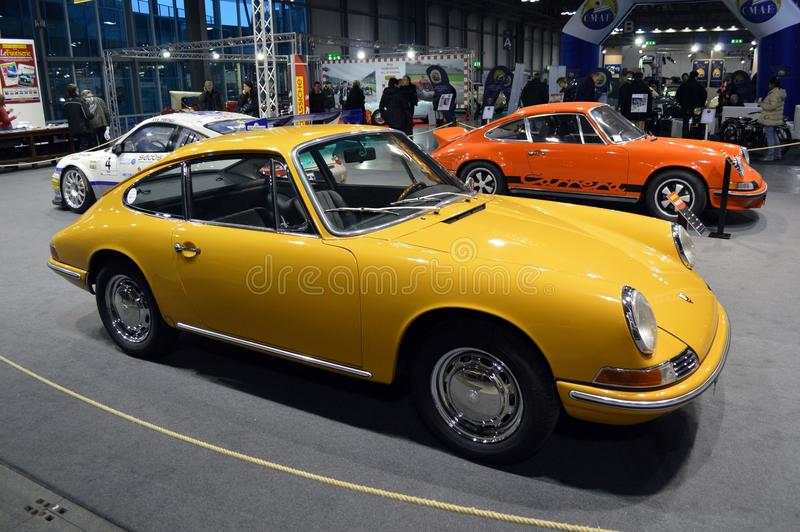 Porsche 911's birthday royalty free stock photos