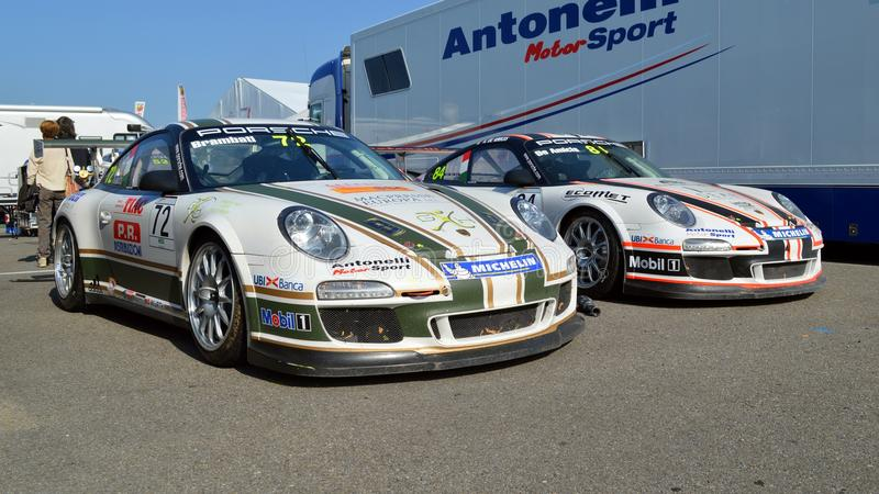 Download Porsche 911 Supercup editorial photography. Image of racetrack - 28036777