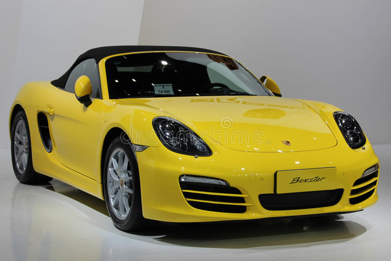 Porsche-Auto lizenzfreies stockfoto