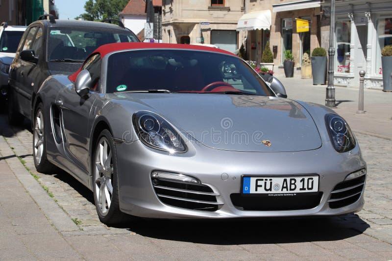 Porsche Boxster lizenzfreie stockbilder