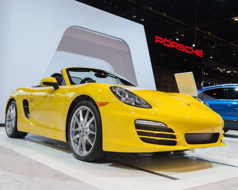 Porsche Boxster 2014 stockbilder