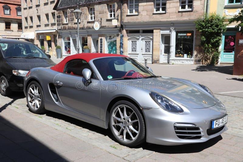 Porsche Boxster teren?wka zdjęcia stock