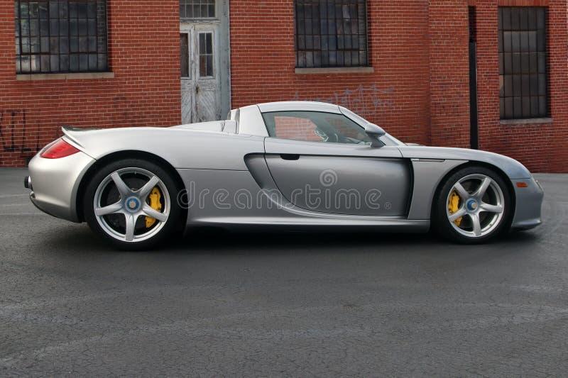 Porsche 2004 Carra GT fotografie stock libere da diritti