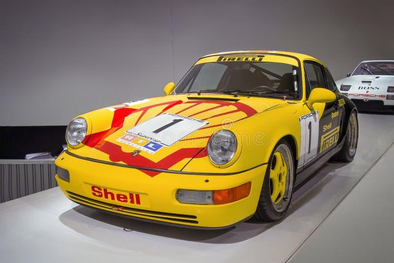 Porsche 911 Carrera 2 copos fotos de stock royalty free