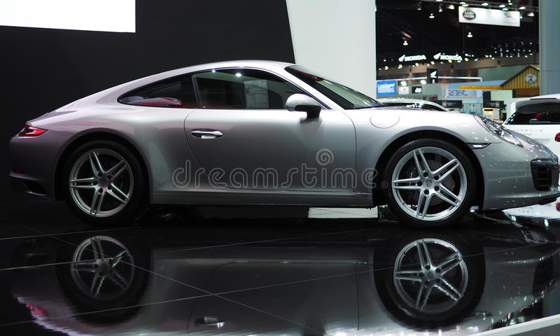 Porsche 911 Carrera stock image