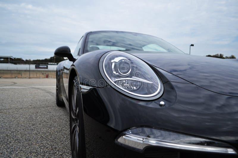 Porsche 911 carrera s royalty-vrije stock afbeelding