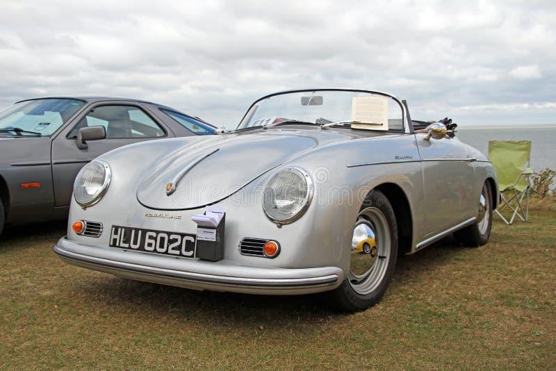Porsche carrera speedster vintage classic royalty free stock photography