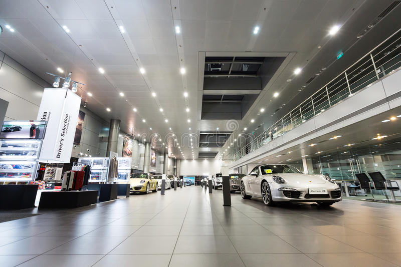 Download Porsche Cars For Sale In Showroom Editorial Stock Image - Image: 36687769
