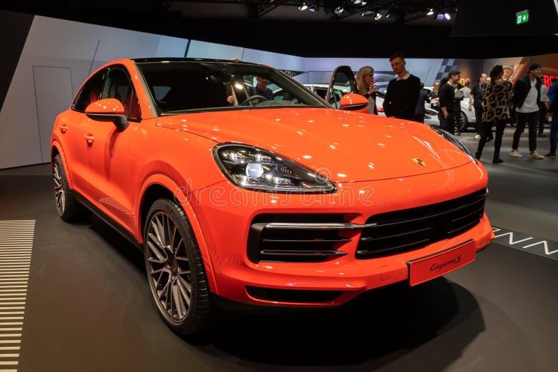 Porsche Cayenne Coupe 2020 obraz stock