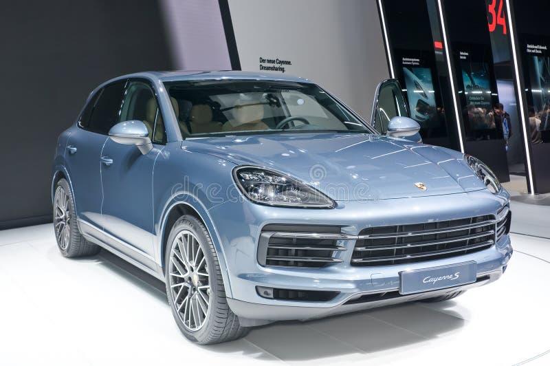 Porsche Cayenne S fotos de stock