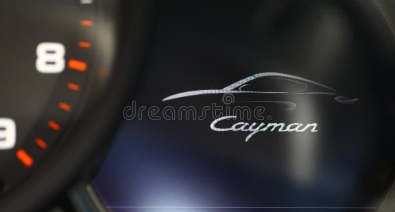 Porsche Cayman stock afbeelding