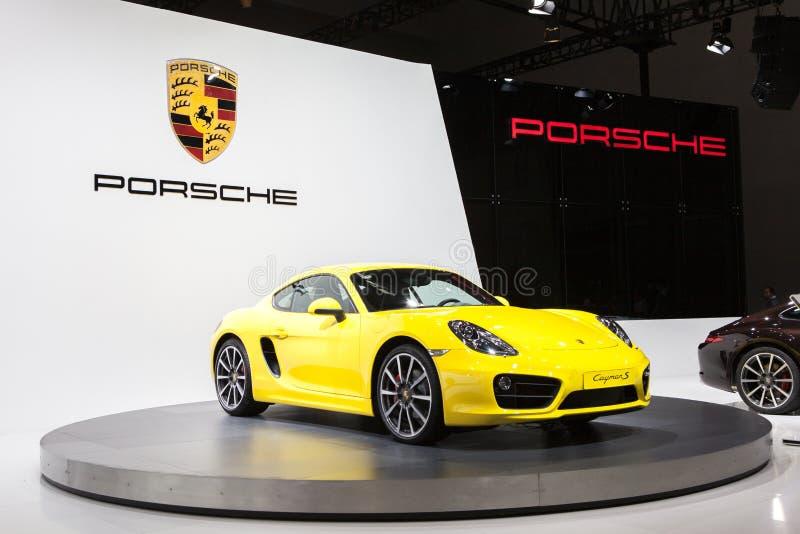Porsche Cayman s royalty free stock image