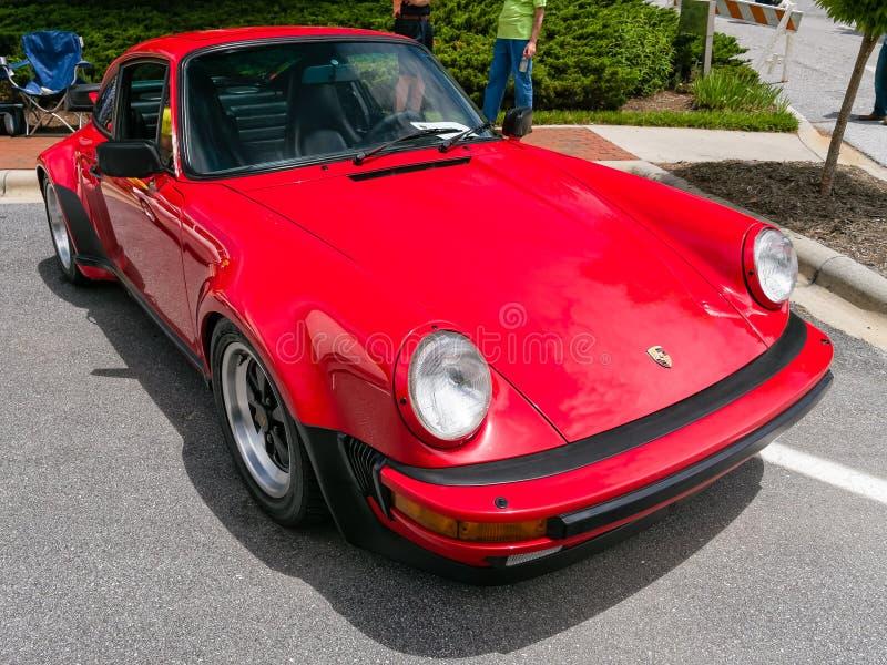 Porsche classico 911 Turbo immagini stock libere da diritti