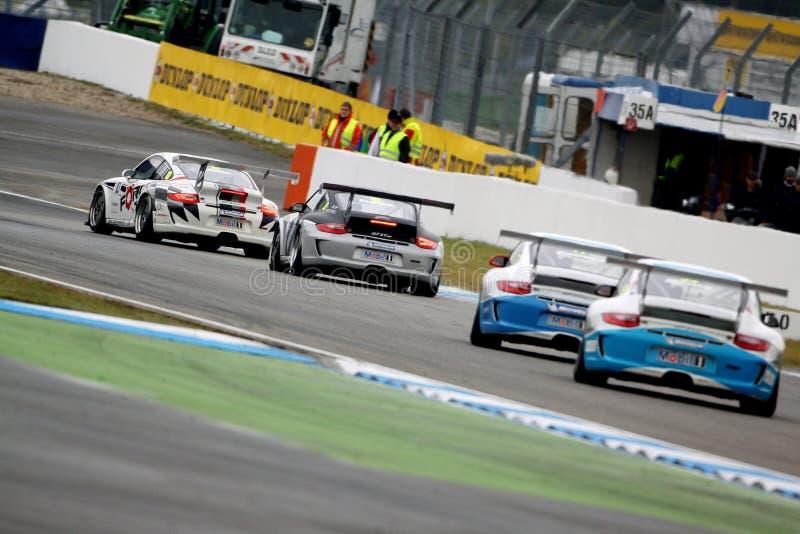 Porsche; Cup Porsche-911GT3 stockbild