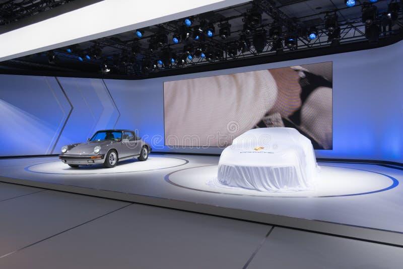 Porsche debut arkivbilder