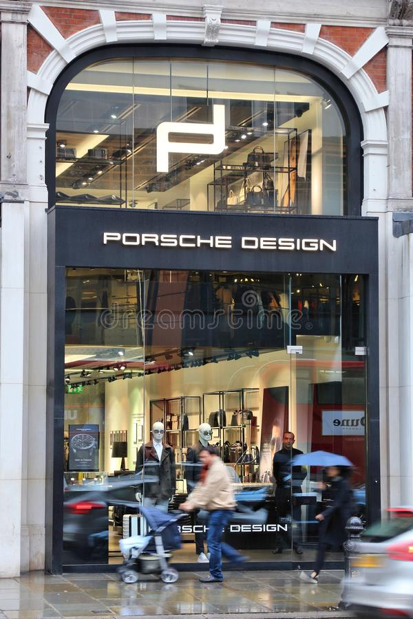 Porsche-Design lizenzfreie stockfotos