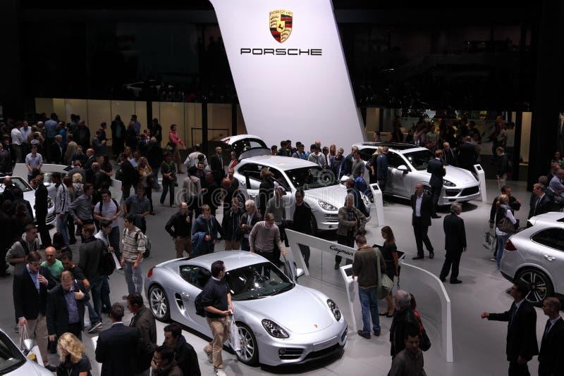 Porsche en el IAA 2013, Francfort foto de archivo libre de regalías