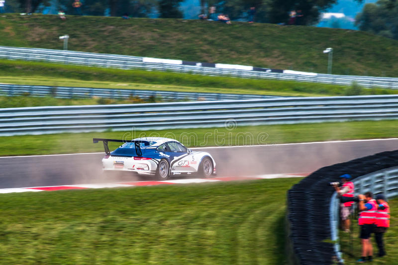 Porsche 991 GT3 Cup royalty free stock photo