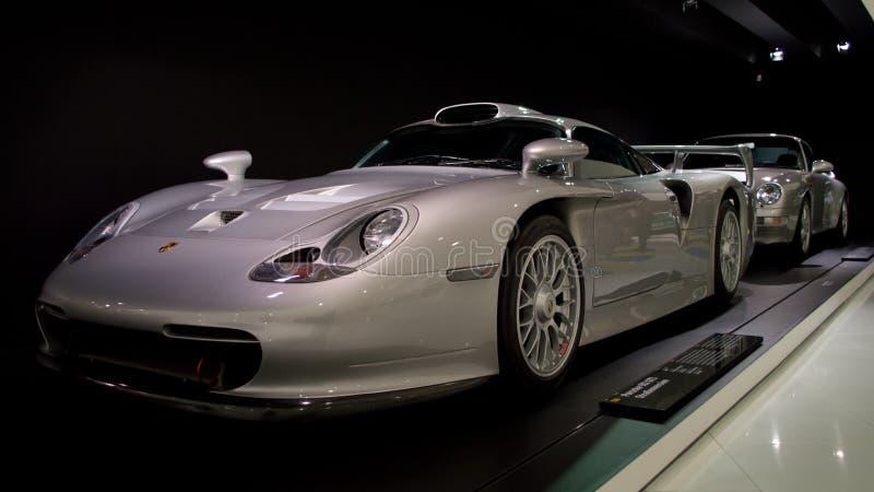 Porsche 911 GT1 Straßenversion lizenzfreie stockfotos