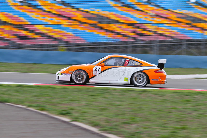 Download Porsche GT3 Cup Challenge Eastern Europe Editorial Image - Image: 22319460