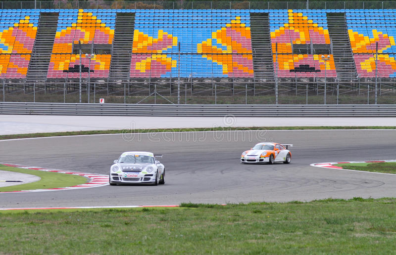 Download Porsche GT3 Cup Challenge Eastern Europe Editorial Photo - Image: 22367111