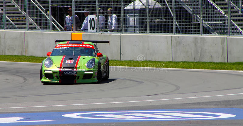 Porsche GT3 Cup Challenge Montreal Editorial Stock Image