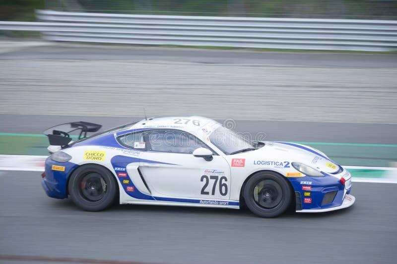Porsche 718 kajman GT4 zdjęcie stock